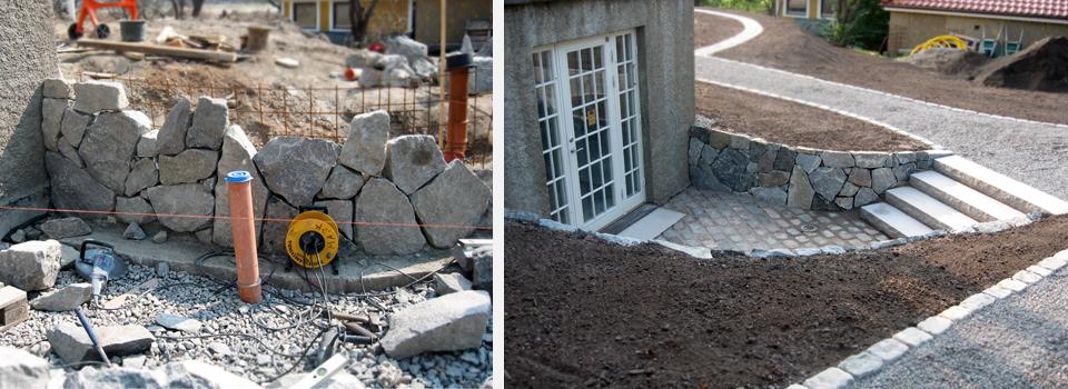 Stenarbeten-före-efter